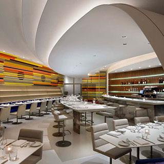 restaurant Guggenheim museum New York City, Frank Lloyd Wright