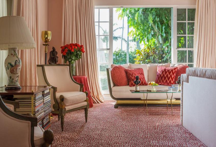 Palm Beach, Florida Decor elegance, indoor outdoor room, classic taste